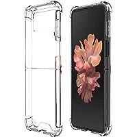 Riastvy Capa protetora para celular Galaxy Z Flip3 5G capa transparente fina compatível com Galaxy Z Flip 3 dobrável…