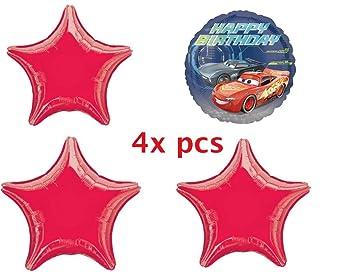 Amazon.com: Cars 3 balloon-mylar-balloons. luftballoons ...