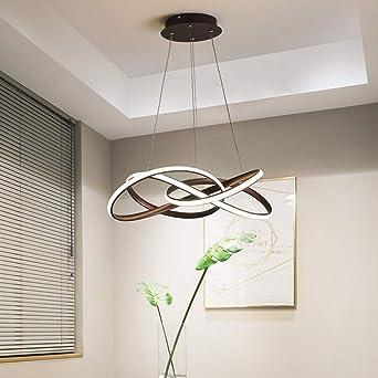 Moderna lámpara de techo colgante para comedor, lámpara de 74 W LED de diseño para techo, iluminación LED, diámetro 62 cm, lámpara de techo para salón, comedor, cocina, regulable: Amazon.es: Iluminación