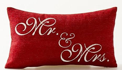 Queens designer Señor y señora de Corazones Negro y Rojo de ...