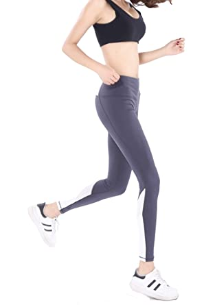 e00482f303 Maks Girls or Junior Women's mesh net Panel Insert Compression Tights  Active Stretch Fitness Yoga Pants