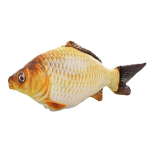 ounona 3d grandes pescado decoración Cojín habitación de los ...