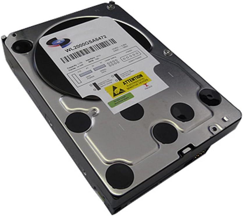 "White Label 2TB 8MB Cache 7200RPM SATA 3.0Gb/s 3.5"" Desktop Hard Drive (PC, Surveillance, NAS) - w/ 1 Year Warranty"