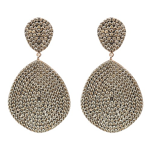 Monte Carlo Earring Rosegold Champagne