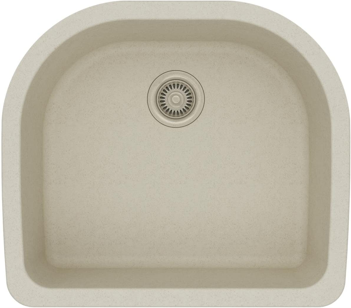 Elkay Quartz Classic ELGSU2522BQ0 Bisque Single Bowl Undermount Sink