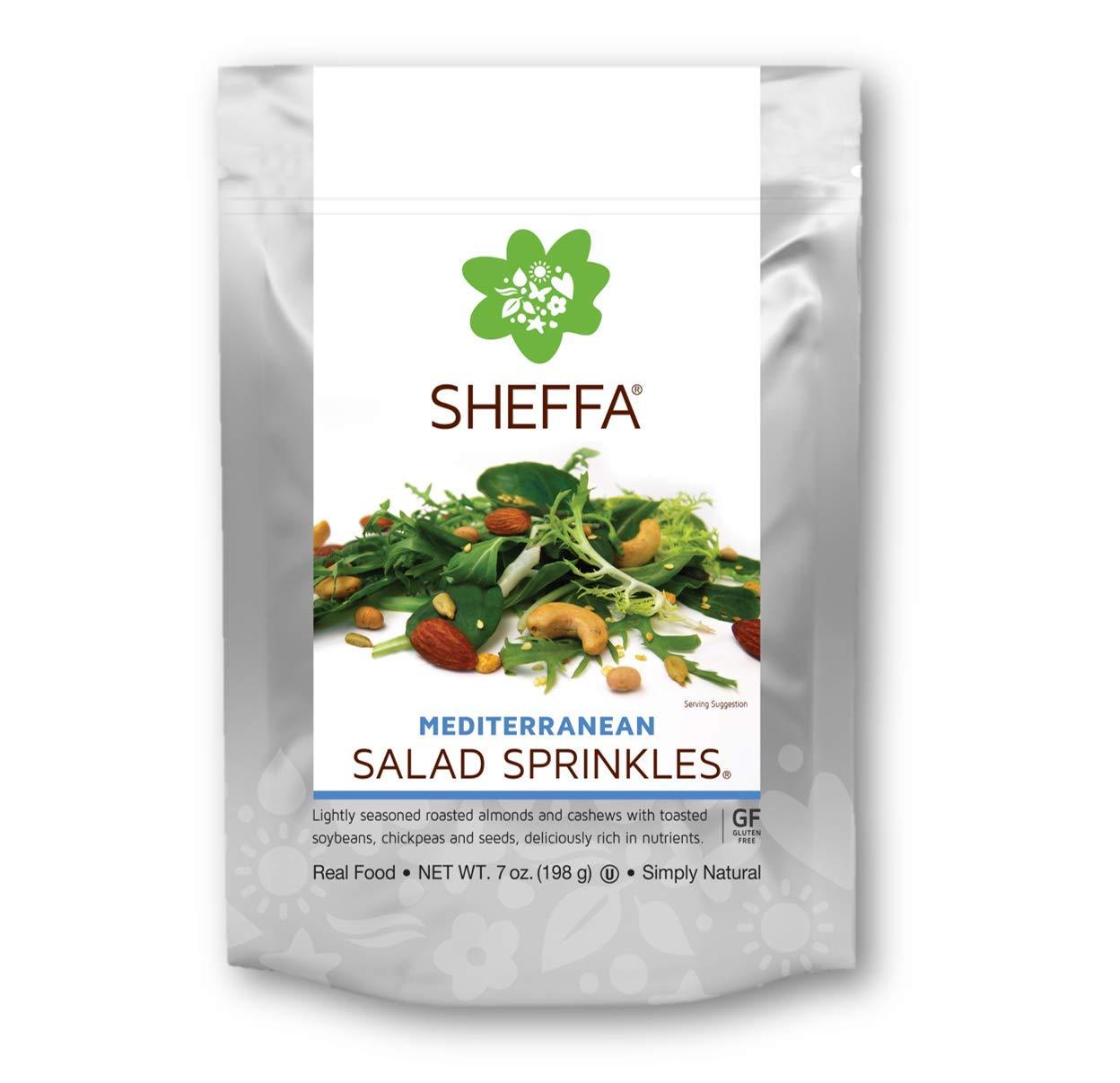 Sheffa Gourmet Mediterranean Trail and Salad Mix (7oz 3 Pack) - Gluten Free, Vegan