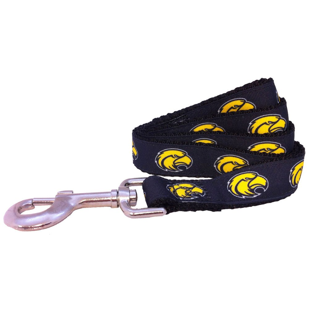 NCAA Southern Mississippi Golden Eagles Dog Leash X-Small//4-Feet Gold