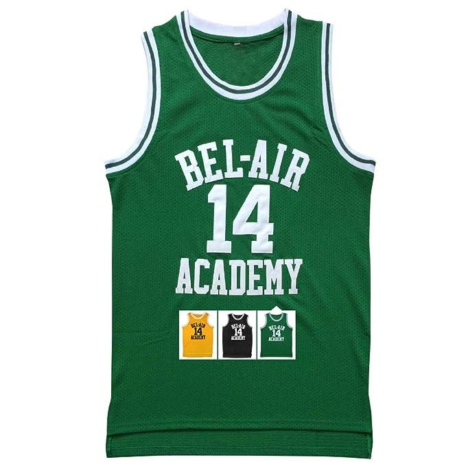 Micjersey Jersey #14 The Fresh Prince Bel Air Academy Basketball Jersey S-XXXL