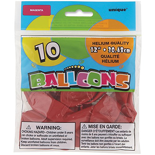 [해외]12 라텍스 마젠타 풍선, 10ct/12  Latex Magenta Balloons, 10ct