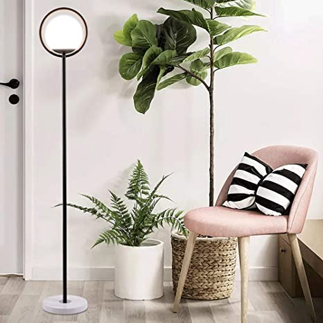 Amazon.com: Rcircle - Lámpara de pie para sofá/escritorio ...