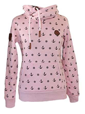huge selection of 83c72 8352a SQUARED & CUBED SQUARED & CUBED Mädchen Hoodie Anker Rosa ...