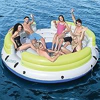 Flotador Isla Hinchable Bestway CoolerZ Lazy Dayz: Amazon.es ...