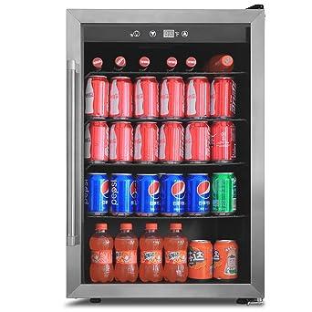 Northair - Enfriador de bebidas y nevera con puerta reversible de ...