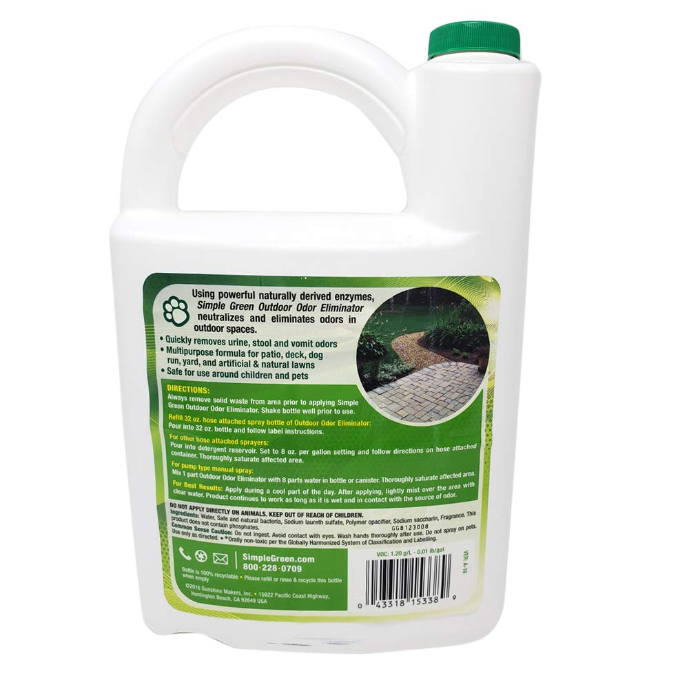 Simple Green Outdoor Pet Odor Eliminator 1 Gallon & 32 oz - Bundle Set by SIMPLE GREEN (Image #6)