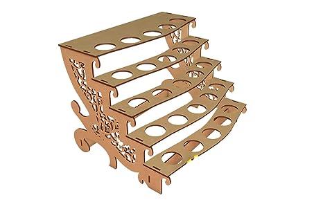 Kit para hacer porta conos de madera DM para candy bar mesa dulce. Medidas: