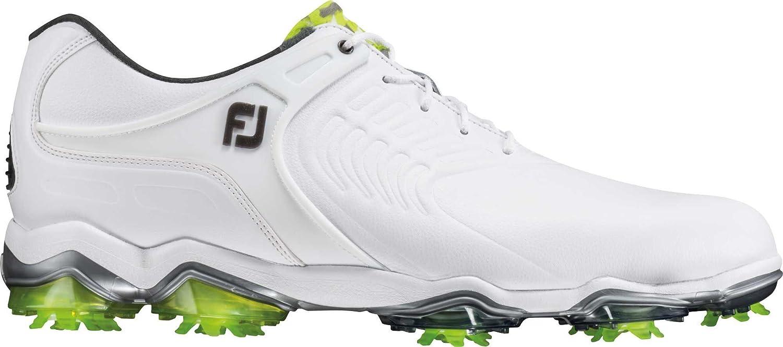 FootJoy Tour-S Golf Shoes B079MFQX87 8.5 M US|White-wide