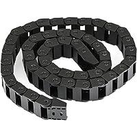 Wohlstand Sleepketting, open aan beide zijden kunststof sleeplijn, half gesloten, 10 x 20 mm 1 m, zwart, voor…