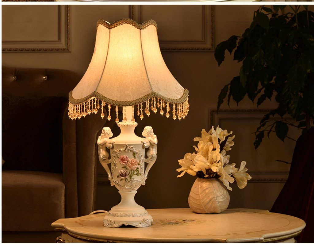 MILUCE American Table Lamp Modern Lighting Bedside Angel Decoration Creative European - Style Lamps by MILUCE