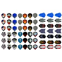 New 21 Sets (63 Pieces) of Darts 2d and Aluminium Flights Assorted Wholesale