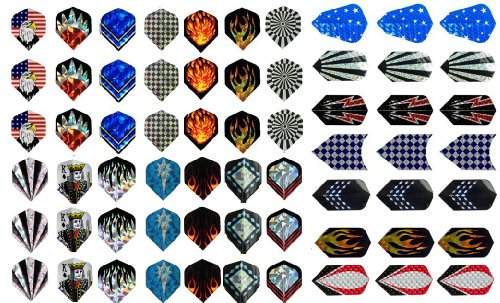 Pieces Aluminium Flights Assorted Wholesale