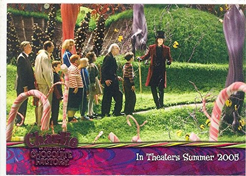 CHARLIE AND THE CHOCOLATE FACTORY 2005 ARTBOX PROMO CARD 01 ()