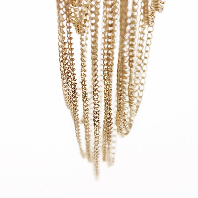 EagleUS Bikini Cross Body Link Chain Necklace by EagleUS(CA Seller)