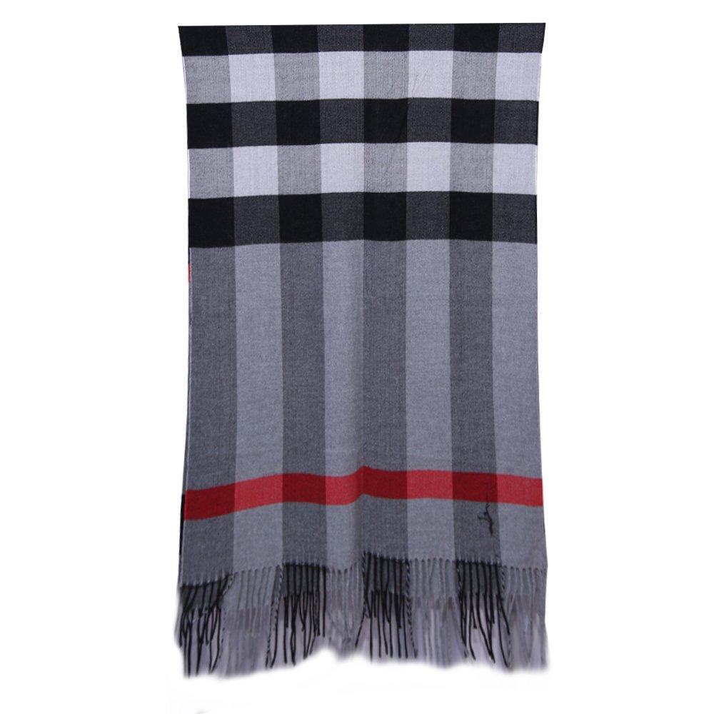 CDM product 5Dreams Women Tartan Scarf Stole Plaid Cashmere Feel Winter Scarves Wraps Shawl small thumbnail image