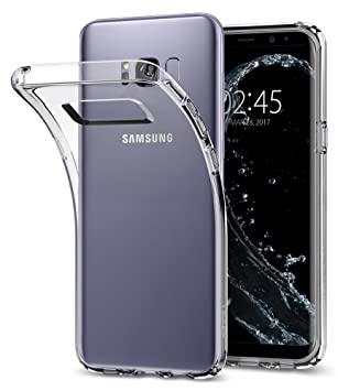 hot sale online de79a 1ec0a Samsung Galaxy S8 Plus Case, Spigen® [Liquid Crystal] Galaxy S8 Plus Case  with Slim Protection and Premium Clarity for **Galaxy S8 Plus (2017)** - ...