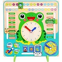 Bogget Children's Wood Frog Multifunción Rompecabezas de educación