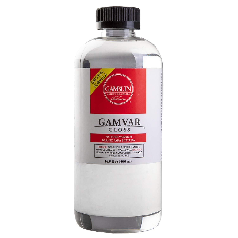 Gamblin Gamvar Pict Varnish 16 Oz GlossOrm-D