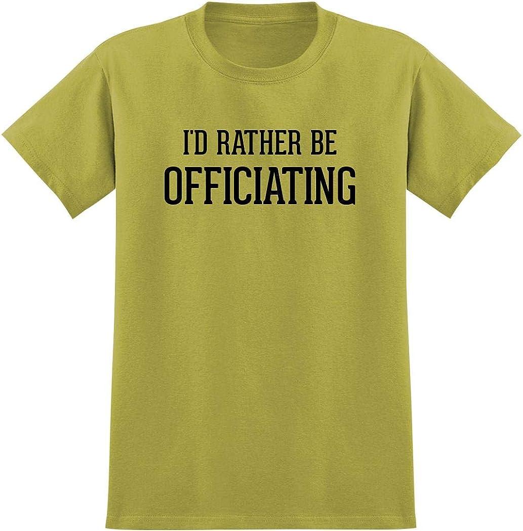 I'd Rather Be OFFICIATING - Men's Graphic Tee T-Shirt 619Uftkg1hL