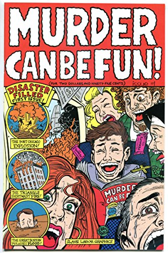 MURDER CAN BE FUN #1, VF/NM, 1996, Dorkin, Chicago, 1st, more indies in - Stores In Chicago