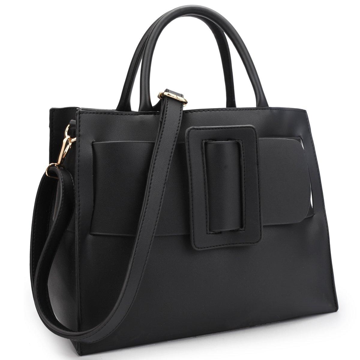 Women Vegan Leather Handbags Fashion Satchel Bags Shoulder Purses Top Handle Work Bags