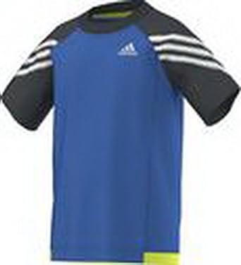 Adidas Performance Niños, Joven Entrenamiento Camiseta, niño, Color Azul - Azul, tamaño 98: Amazon.es: Deportes y aire libre