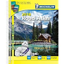 Michelin North America Road Atlas 2018, 16e