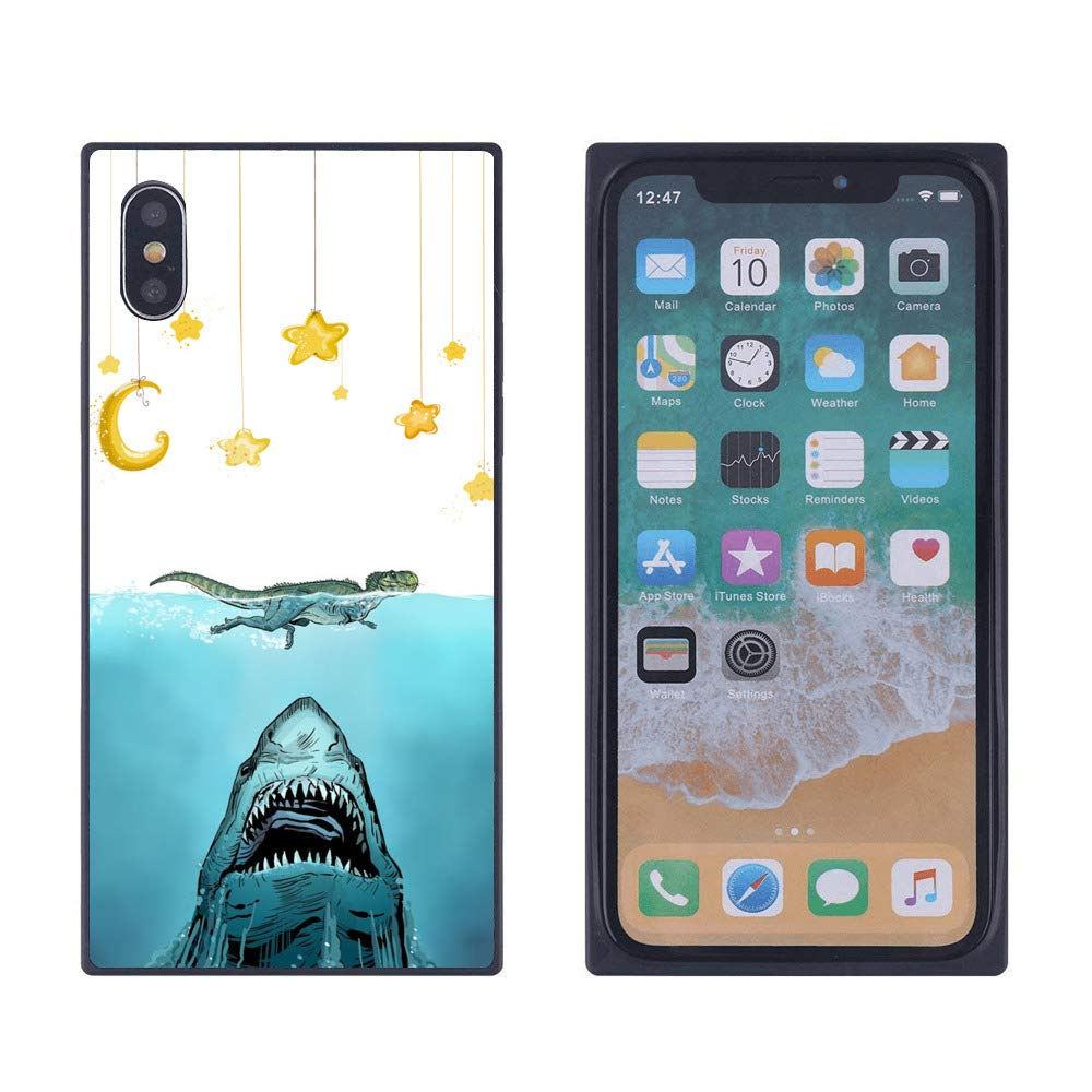 Amazon Com Sharks And Crocodiles Iphone Xs Iphone X Case