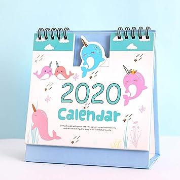 FJXQCY Calendario de Escritorio 2019-2020 año académico ...