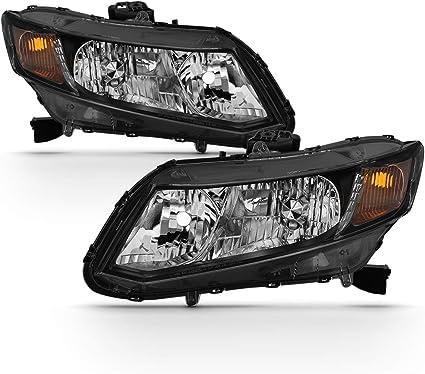 Coupe  2012 2013 right passenger headlight head light New Honda Civic Sedan