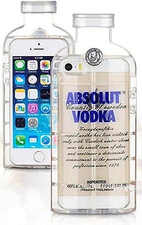 Coque de protection en silicone bouteille de vin Vodka pour iPhone ...