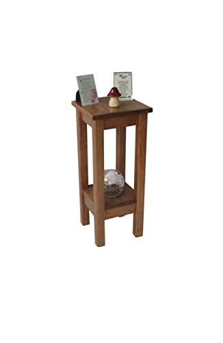 Charmant Amazon.com: Nightstand/End Table/Small Accent Table/Skinny Side Table/Entryway  Table/Bedside Table/Rustic Wood Hall Table Early American Stain: Handmade