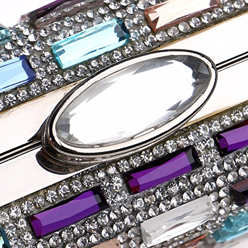 de americana noche de la Europea de mano bolso Diamond Color banquete vestido y XJTNLB dama Color banquete cena de Y07Aa5q