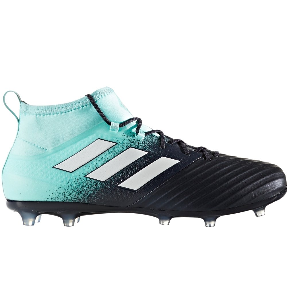 adidas Men's Ace 17.2 Firm Ground Cleats Soccer Shoe, Energy Aqua/White/Legend Ink, (11 M US)