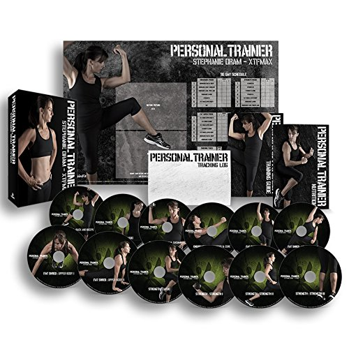 Personal Trainer: 90 Day Workout Program 12 Exercise Videos on DVD + Training Calendar, Fitness Tracker & Training Guide and Nutrition Plan … by X-TrainFit