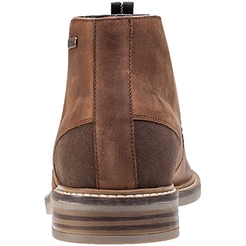 3c7134c3bc9 Mens Barbour Redhead Chukka Smart Tan Office Leather Shoes Ankle Boots