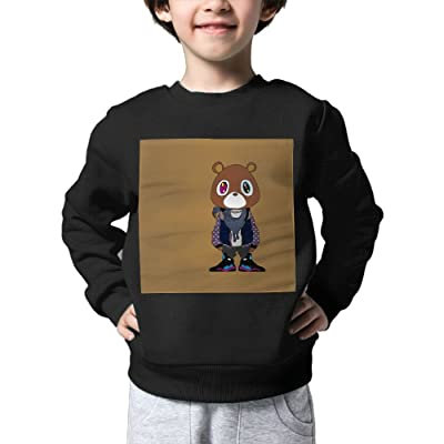 HUANLESONG West Bear Boy Sweater Lovely Warmth For Kid