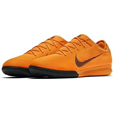 NIKE Mens Mercurial Vapor XII Pro IC Soccer Cleats - (Total OrangeWhite)