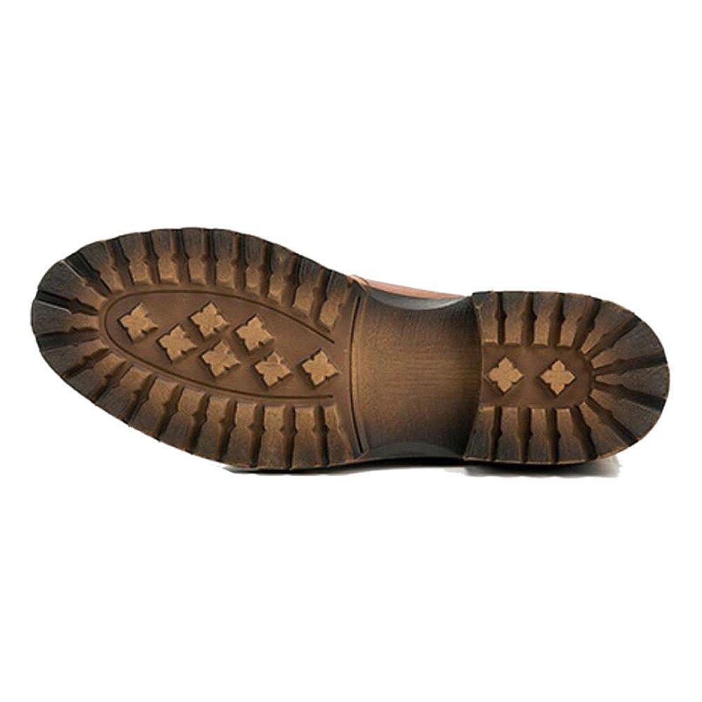 ZPFDY Männer Herbst Herbst Männer Britischen Stiefelies Mode Lässig Jugend Schnürsenkel Lederstiefel f6978d