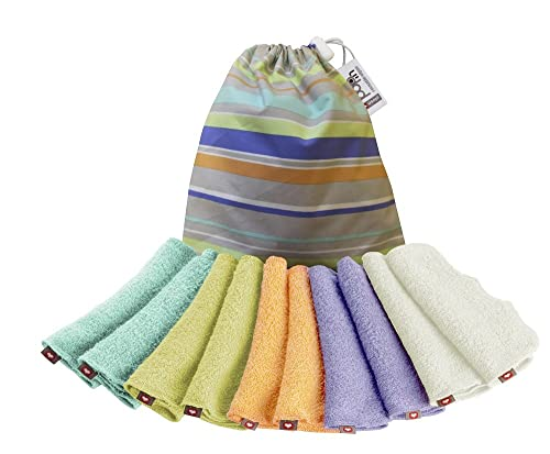Close Pop-In Pastels Reusable Baby Wipes Pack (Multicoloured)