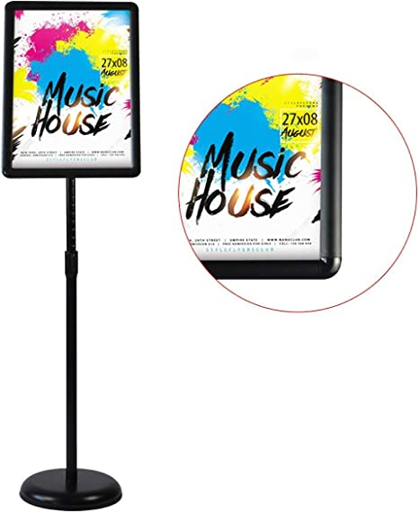 Amazon.com: HUAZI - Soporte para carteles, con marco de ...