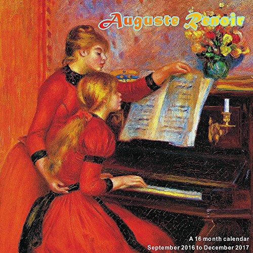 Pierre Auguste Renoir Calendar - 2017 Wall Calendars - Calendar 2016 - Art Calendar - Famous Paintings Calendar by Magnum